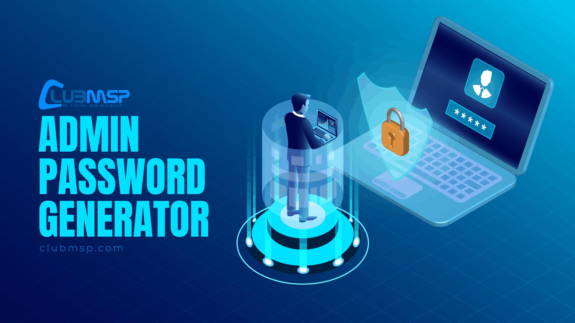 admin password generator